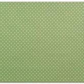 Tissu adhésif – vert pois blanc