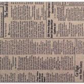 Tissu adhésif – journal brun