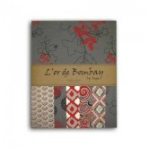 Papiers L'or de Bombay – rouge & gris