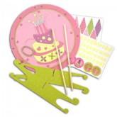 Kit anniversaire déco gâteau – Fée