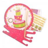 Kit anniversaire déco gâteau – Princesse