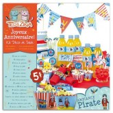 Kit anniversaire déco de table – Pirate