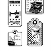 Étiquettes création