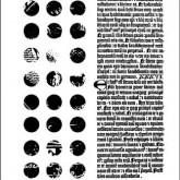 Texture Points / Lettres