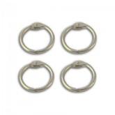Jeu de 4 anneaux de reliure – 3,7 cm