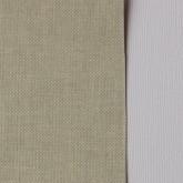 Toile coton adhésive beige et bleu très clair