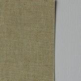 Toile coton adhésive beige et lin