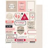 Planche d'étiquettes 5th Avenue – En Hiver