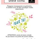 Texte floral
