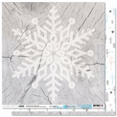 Papier «Flocon XXL» – Coll. «Douceur hivernale»