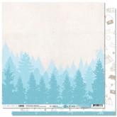 Papier «Jour de neige» – Coll. «Douceur hivernale»