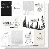 Papier « Let it snow » – Coll. Carte blanche