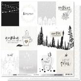 Papier «Let it snow» – Coll. Carte blanche