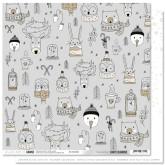 Papier «Si mignons» – Coll. Carte blanche