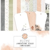 Collection « Plume » + 3 grands tags