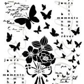 Pochoir «Bloom»