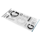 Clear Lettre G
