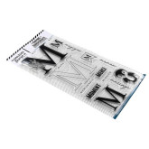 Clear Lettre M