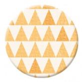 Badge jaune – Collection «Crochetin'»