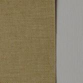 Toile coton adhésive beige et jaune très clair
