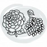 Die «mini pivoine et dahlia»