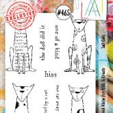 #465 Tall cats